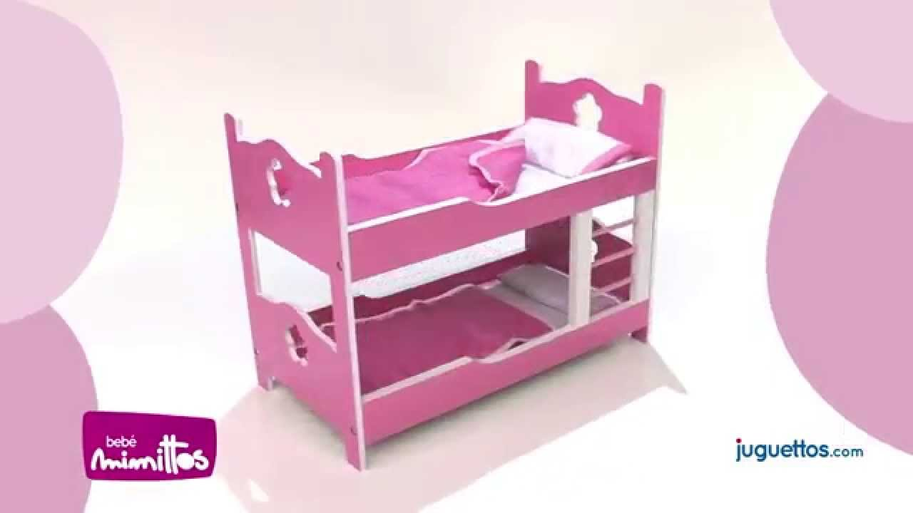 Mimittos litera de madera youtube - Literas de 3 camas ...