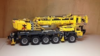 LEGO Technic Mobile Crane MK II with Power Functions set 42009 Review
