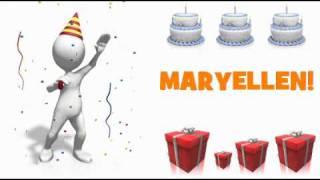 HAPPY BIRTHDAY MARYELLEN!