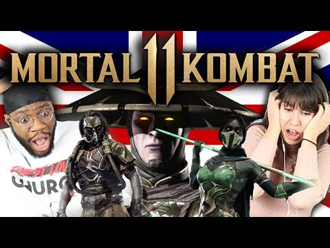 British People React To Mortal Kombat 11 (Story Trailer, Fatalities, Gameplay) thumbnail