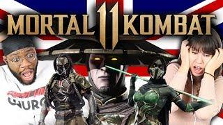 British People React To Mortal Kombat 11 (Story Trailer, Fatalities, Gameplay)