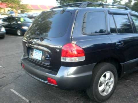 2005 Hyundai Santa FE GLS, 2.7 V6, Dark Blue, CLEAN, $6,995. Call  952 882 7776