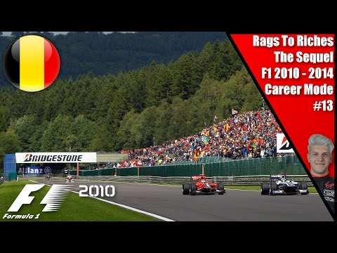THIS SEEMS FAMILIAR!!! RAGS TO RICHES THE SEQUEL S1 R13 EP13 I F1 2010 BELGIUM!!