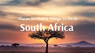 South Africa Tour Packages with Flamingo Transworld Pvt Ltd
