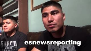 MIKEY GARCIA on which was better sparring pacquiao or valero - EsNews Boxing