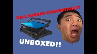 Dell Latitude 12 Rugged Extreme UNBOXING
