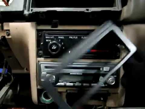 Heater Core Removal - YouTube
