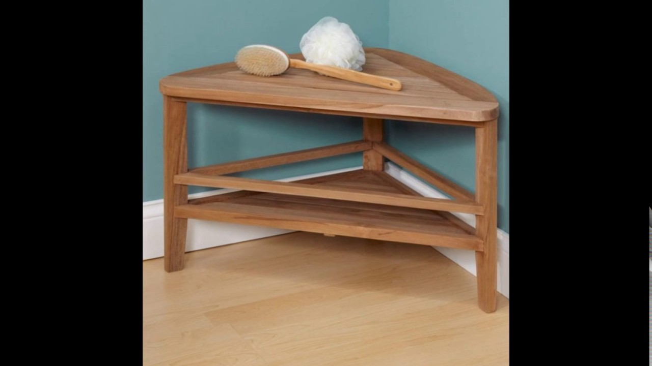Fascinating Teak Wood Shower Bench Bring Cute Nuance Into Your ...