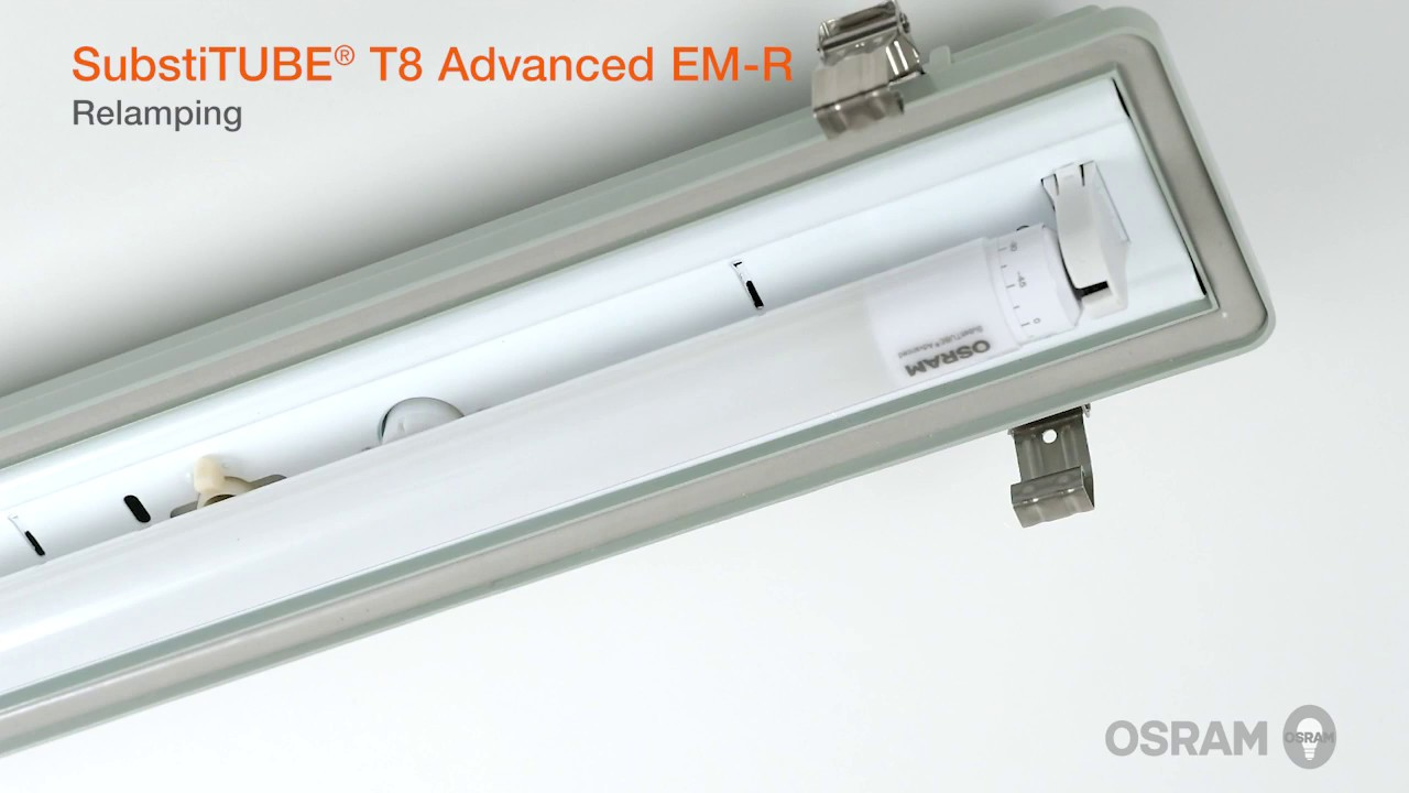 Installation Guide For Osram Substitube T8 Led Tubes Youtube Wiring A Double Light Switch With 2 Lights
