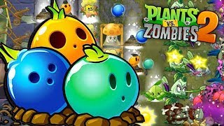 BULBO DE BOLERA ES LA CLAVE - Plants vs Zombies 2
