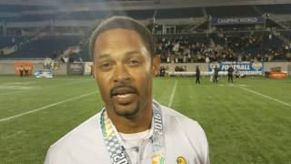 St. Thomas Aquinas HC Roger Harriott after winning the 2016 Class 7A State Championship
