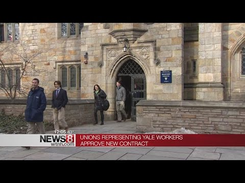 Union contracts go through for thousands of Yale University workers