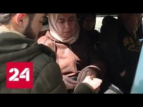 Спасенные жители Восточной Гуты рассказали о бесчинствах боевиков - Россия 24