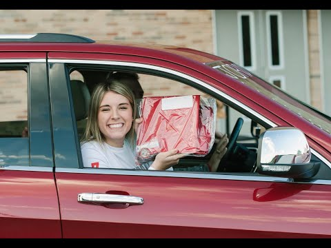 Frankenmuth High School (MI.) Cap and Gown Pick Up Party