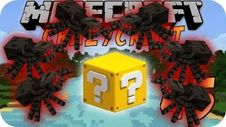Minecraft CHAOS CRAFT #45 - Spider Party!