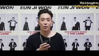 [ENG SUB/1080P] 180328 SECHSKIES FAN FESTIVAL - Eun Jiwon's Message