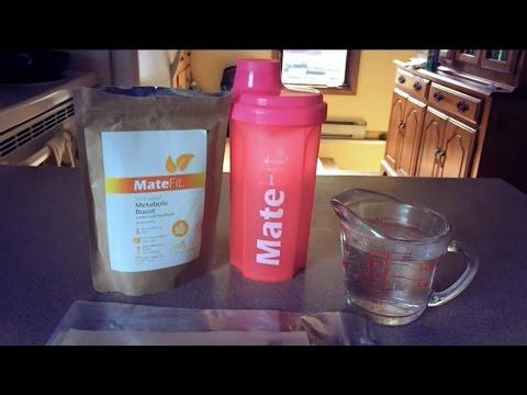 how to make matefit tea