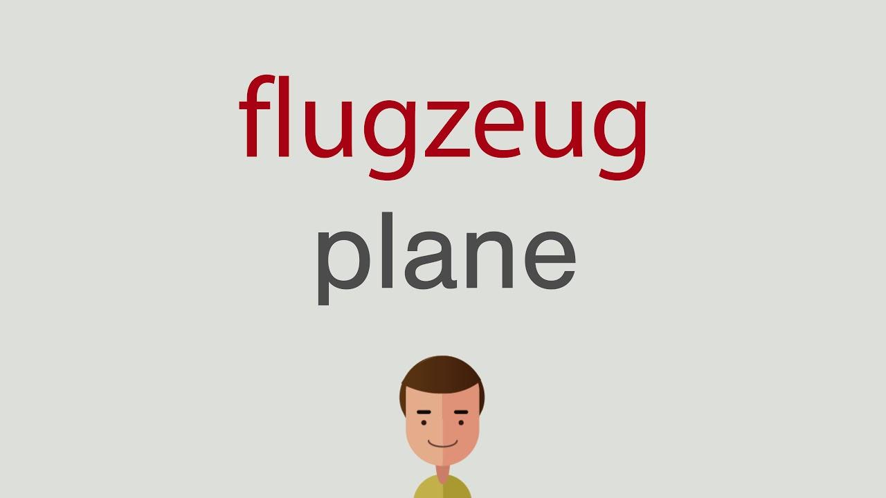 Flugzeug Auf Englisch