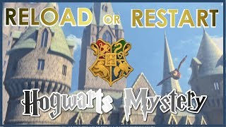 Hogwarts Mystery   How to Reload or Restart Your Game