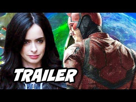 Marvel Jessica Jones Season 2 Trailer and Daredevil Season 3 Breakdown