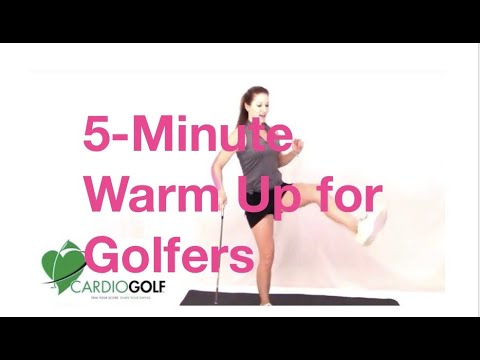 Pre-Round Warm-Up Routine-Improve Your Fitness and Golf with Cardiogolf