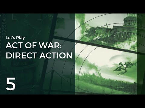 Let's Play Act of War: Direct Action #5 | Red Sea Coast