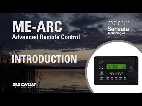 Features of the Magnum Energy ME-ARC Remote Control