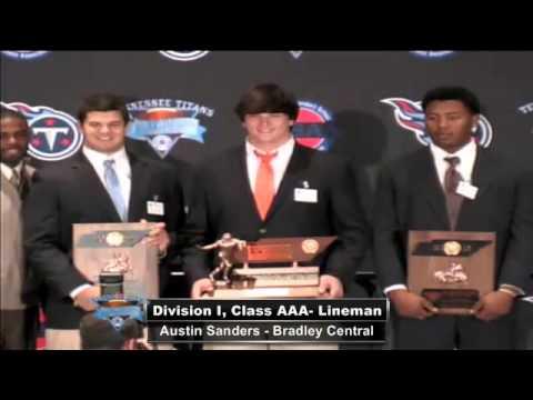 2012 TSSAA Tennessee Titans Mr. Football Awards