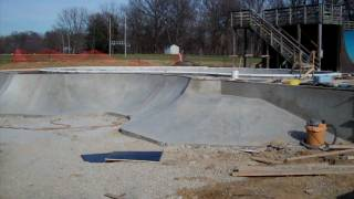 Construction Update #5: Veterans Skatepark 1/8/12 - Woodbridge, Va - Thunderwood