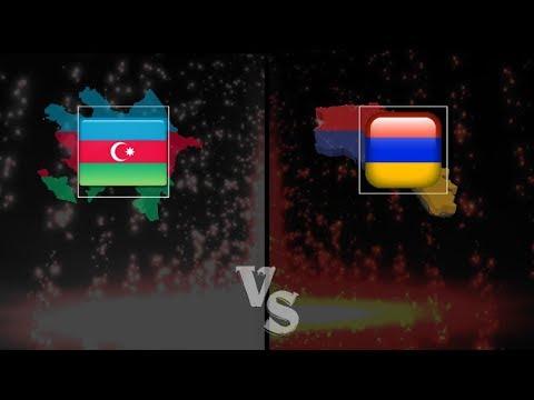 ARMENIA VS AZERBAIJAN [EUROVISION 2008 - 2018]