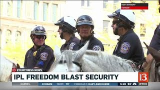 Freedom Fest security