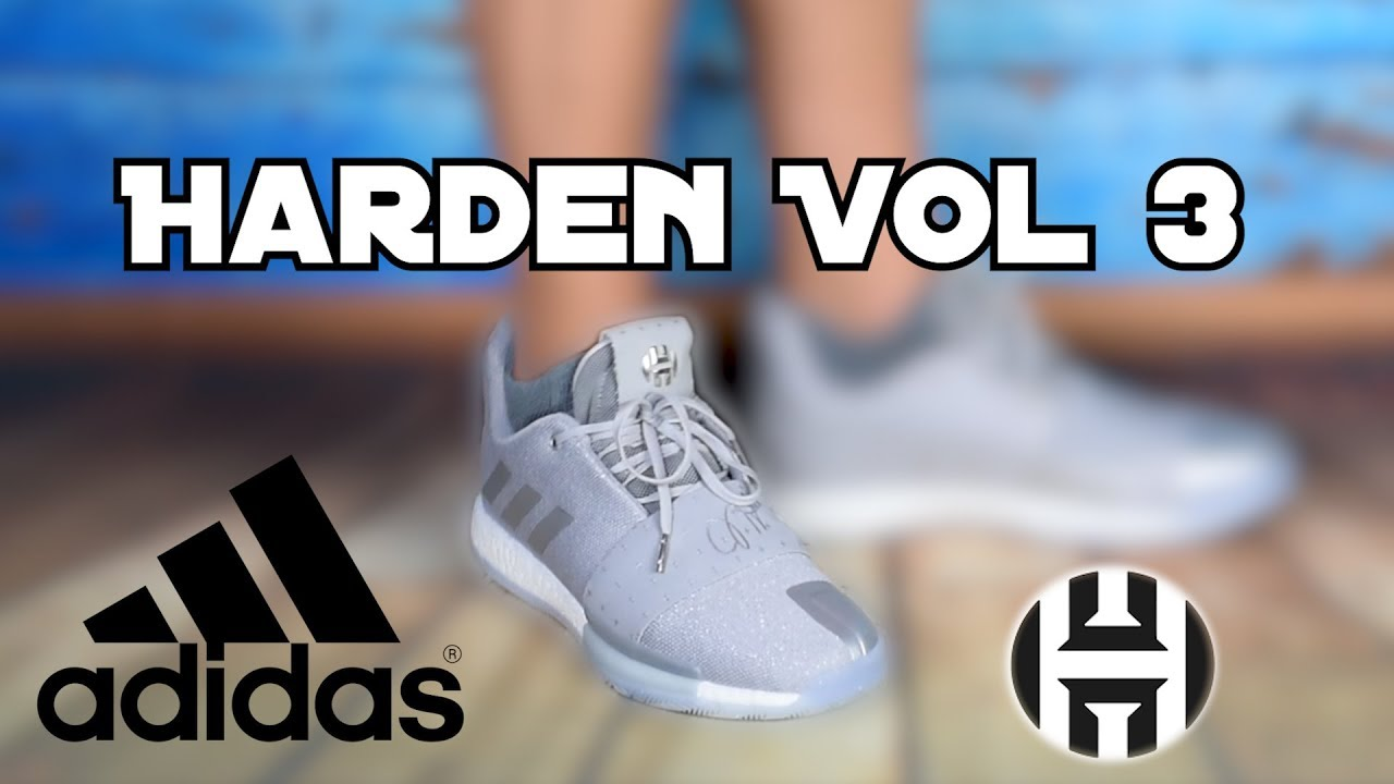 cb12b4fcd2d Adidas Harden Vol. 3 - Erster Eindruck - unboxing   on feet - YouTube