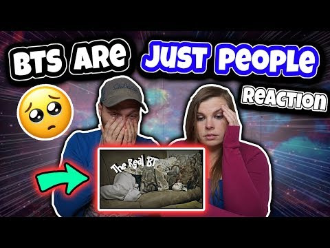 BTS Are Just People | The Real BTS Reaction **Very Emotional** 💜