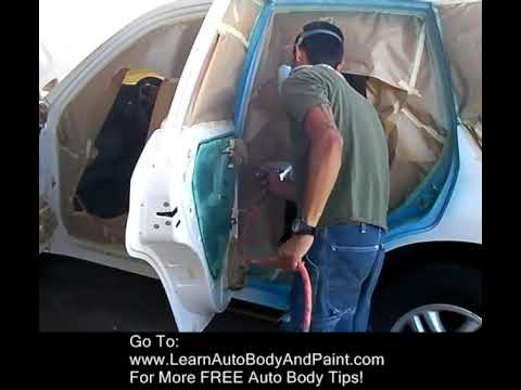 Quot How To Spray Paint Door Jambs Quot Youtube