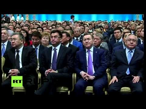 LIVE: Inauguration of Kazakhstan President Nursultan Nazarbayev