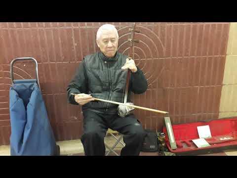 Erhu. Violin Chino Del Tibet En El Metro Verdager. Barcelona. El Blog De Arsenio