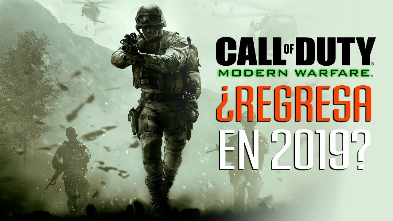 Call of Duty 2019 ¿será realmente Modern Warfare 4?
