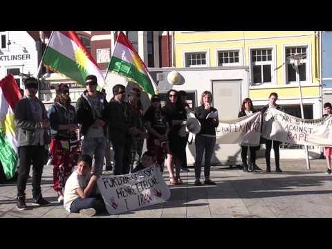 Demonstrasjon mot det iranske regimet  Bergen, Norge 15.mai 2015