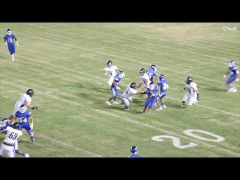 Michael Sullivan #12, Central Union High School, 2019-20 Football Defense Season Highlights