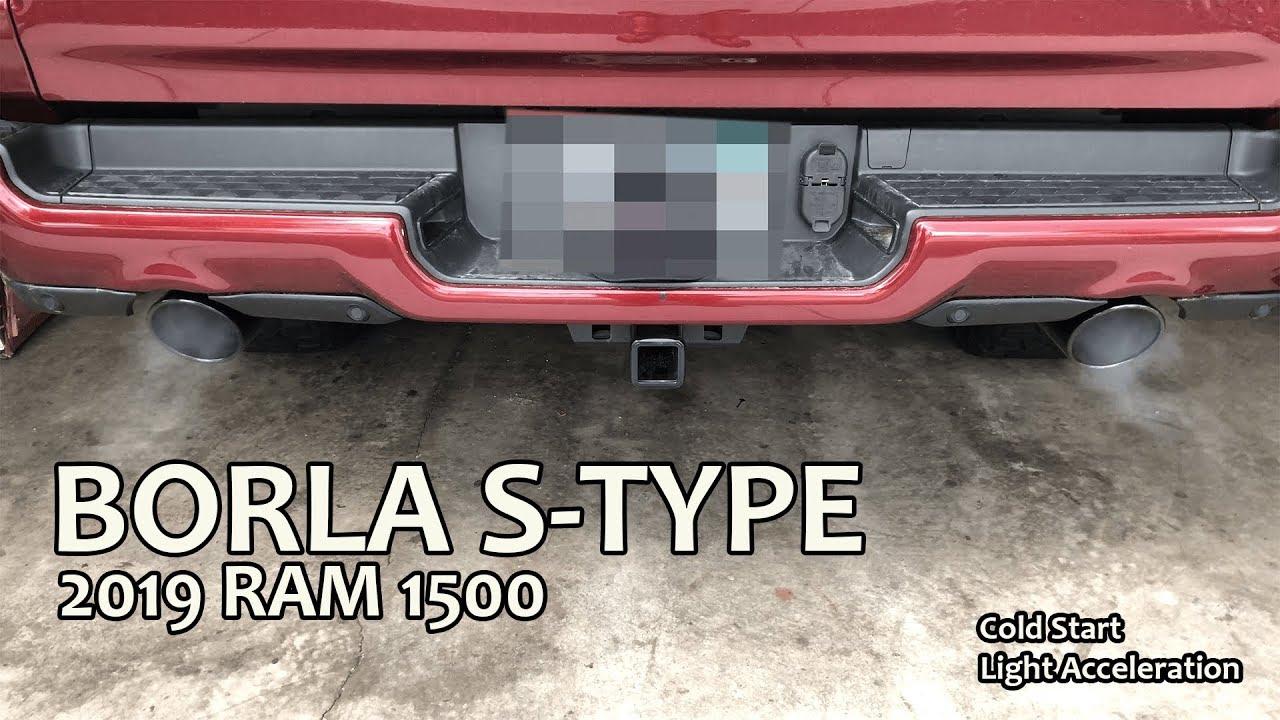 2019 ram 1500 borla s type exhaust