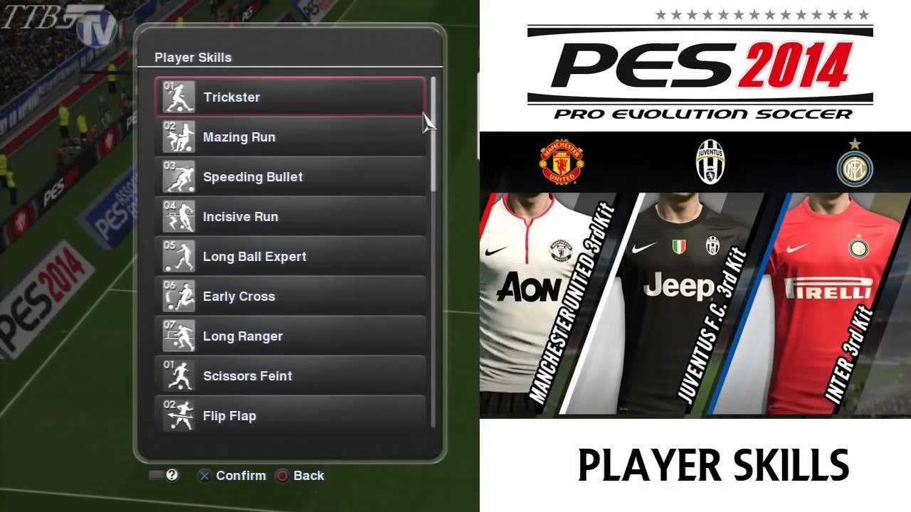 PES 2014 - Player Styles & Skills Uncovered [HD]