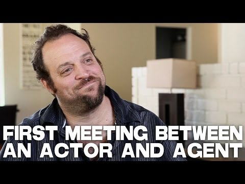 Typical First Meeting Between An Actor And Agent by Alex Sol