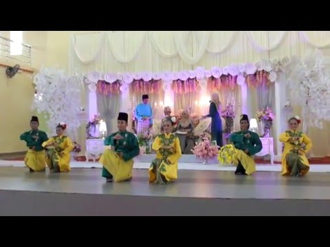 ZAPIN YALADAN - CONVOLVULUS PERFORMING ARTS & CULTURE,#YUSRIFATIN WEDDING 02042016 [FULL HD]