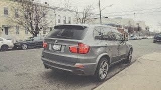 BMW X5M E70 - Exhaust SOUNDS / Revs & Accelerations