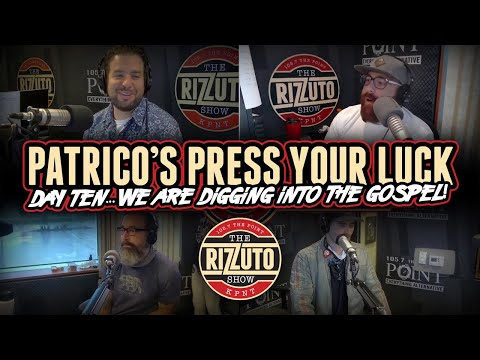 Patrico's Press Your Luck Day 10: We are digging into the gospel! [Rizzuto Show]