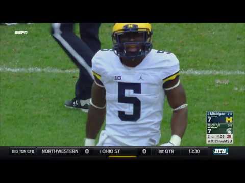 Michigan at Michigan State - Football Highlights