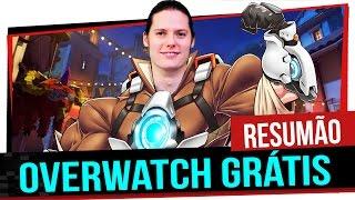 Resumão - Overwatch Grátis, Novo Megazord, Machado da Jessica Nigri e muito mais!