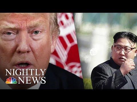 President Donald Trump Prompts New Level Of Brinkmanship With North Korea | NBC Nightly News
