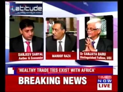 Times Now - Trade Routes on the Indian Ocean (featuring Sanjaya Baru)