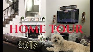 House Tour 2017   Living Room, Dining, and Kitchen